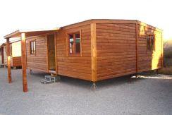 casa económica de madera prefabricada Casas Carbonell