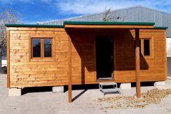 casa de madera barata de 50 m2