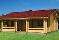 Kit casa madera Elly