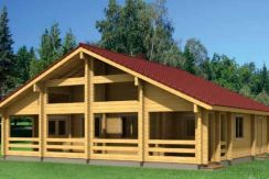 Casas de madera kit Esther