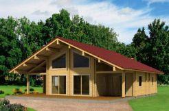 Kit vivienda de madera Gerda