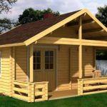 casita de madera sauna Leia 1