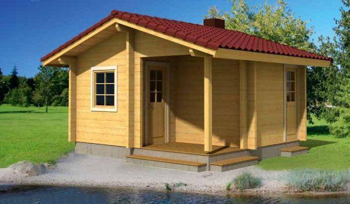 casa de madera en kit sauna sofia casas carbonell. Black Bedroom Furniture Sets. Home Design Ideas
