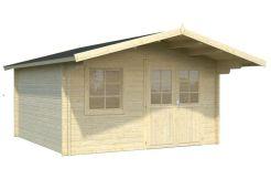 casetas de jardín económicas Britta 14.6 de Casas Carbonell madera tratada