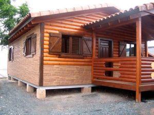 casa de madera oferta Kempes