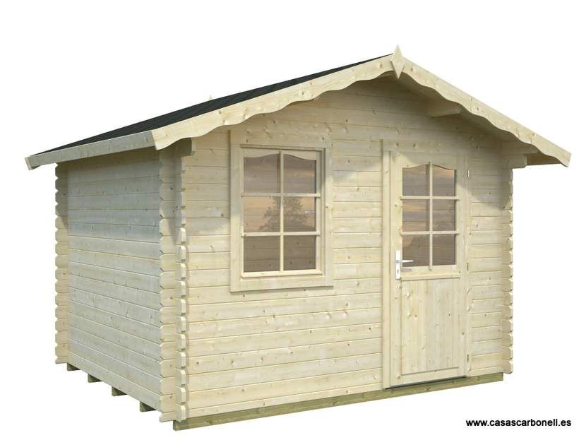 Casetas de madera jardin armario albecove mm xcm p si - Casetas madera aki ...