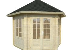 casitas de madera de jardín Hanna 7.6 de Casas Carbonell en madera tratada