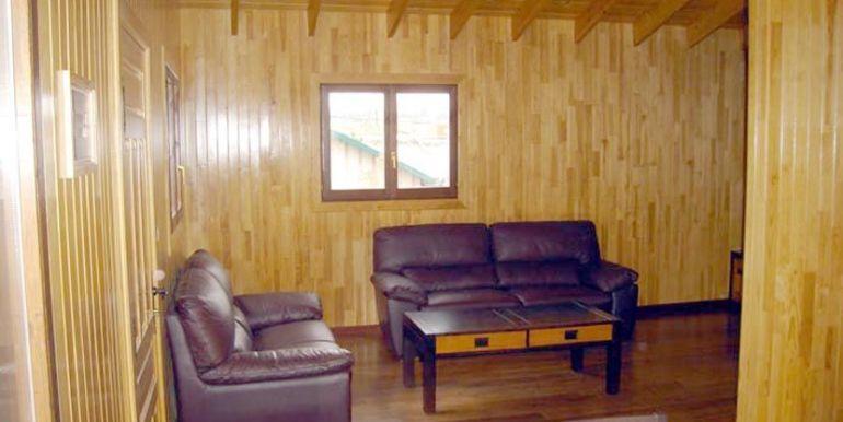 Interior de casa de madera Kempes de Casas Carbonell (2)