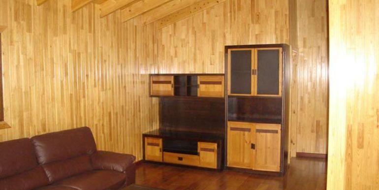 Interior de casa de madera Kempes de Casas Carbonell (3)