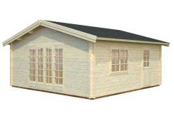 caseta de jardín kit Irene 27.7 de Casas Carbonell en madera tratada