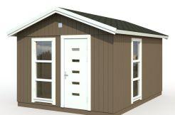casita nórdica Ly 13.8 de Casas Carbonell diseño moderno