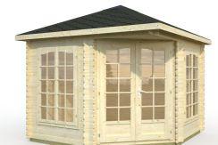 casita de madera para jardín Melanie 6.8 Casas Carbonell en madera tratada