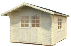 casetas de jardín Sally 10.2 de Casas Carbonell de madera maciza