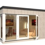 anexo vivienda Solveig 13.6 de Casas Carbonell como dormitorio