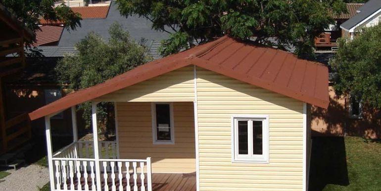 fabricación de bungalows