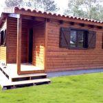 Casa prefabricada de madera Palisandro de Casas Carbonell