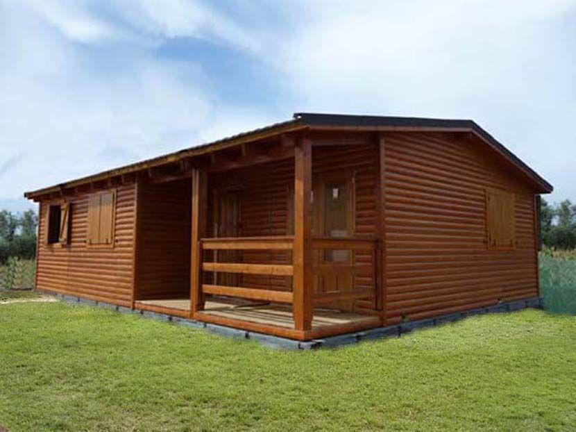 casa de madera modelo carpato nogal m