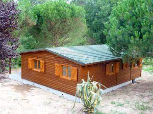Casas madera Madrid, modelo Peñafiel de Casas Carbonell