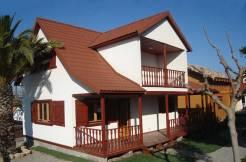 Oferta casa de madera Lotus de Casas Carbonell
