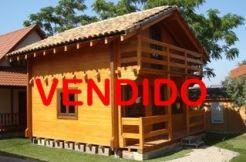 venta cabaña madera maciza