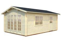 cabaña de jardín Irene 19 de Casas Carbonell de madera maciza