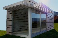 Oferta prefabricado modular spa sauna