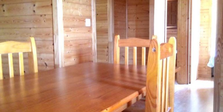 Casa móvil prefabricada usada, modelo Denia de Casas Carbonell suelos en madera