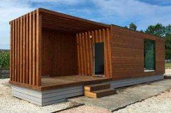 Casa de madera modular prefabricada Helena