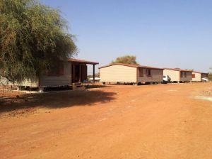 Montaje de casas modulares con revestimiento de Cedral