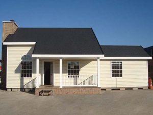Oferta casa prefabricada americana de exposición