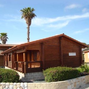 Oferta casa de troncos de madera Primavera