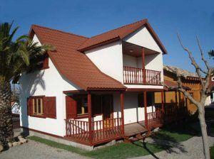 Oferta casa de madera Lotus de exposición