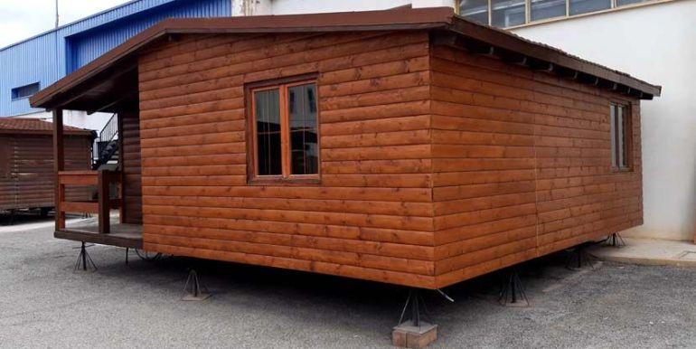 ocasion casa de madera con terraza