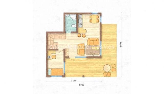 Casa prefabricada M03 1 - Casa prefabricada moderna modelo M03