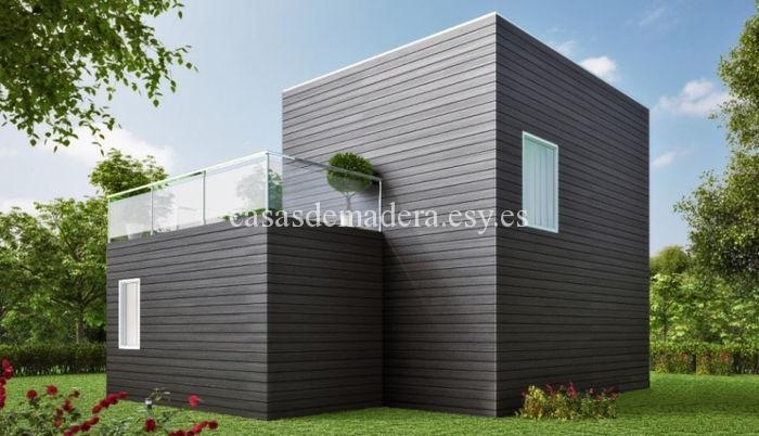 Casa prefabricada M03 4 - Casa prefabricada moderna modelo M03