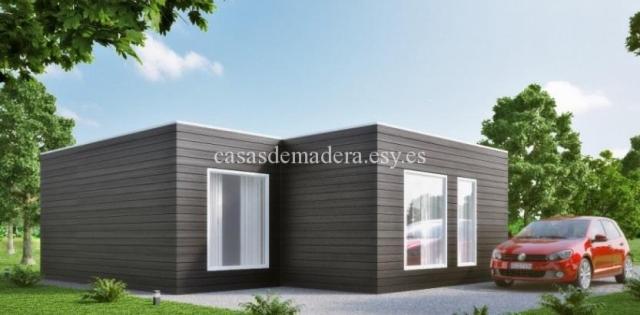 Casa prefabricada moderna M02 1 - Casa prefabricada moderna Modelo M02