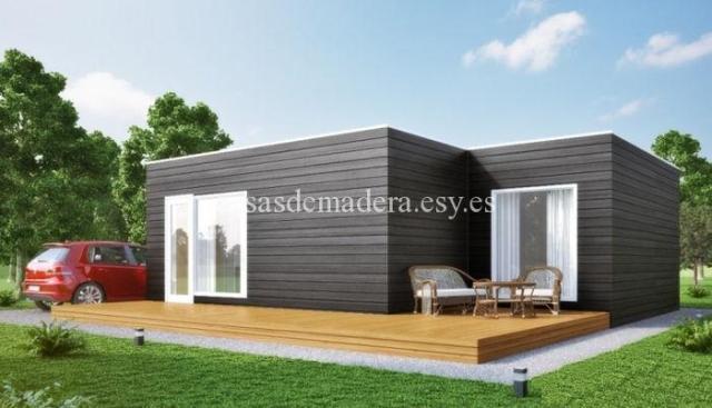 Casa prefabricada moderna M02 3 - Casa prefabricada moderna Modelo M02