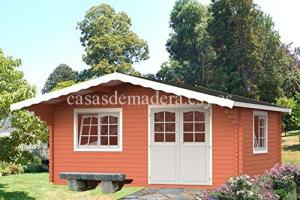 casa de madera 6 300x200 - Casas de madera Italfrom 19m2