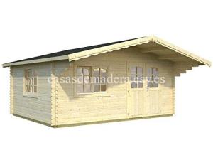 casa de madera 7 300x225 - Casas de madera Italfrom 19m2