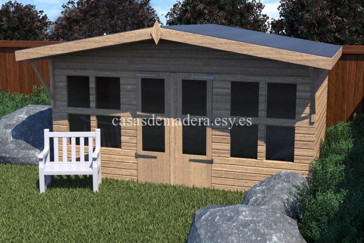 shed07 scene 01 717x478 - Casas de madera de la marca Noah 24m2