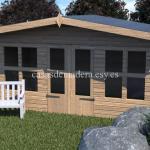 Casas de madera de la marca Noah 24m2