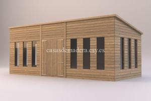 studio renders shed02 717x478 300x200 - Casas de madera de la marca Noah 18m2