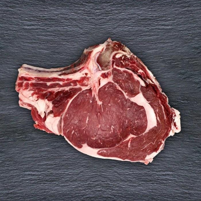 costata di carne biologica