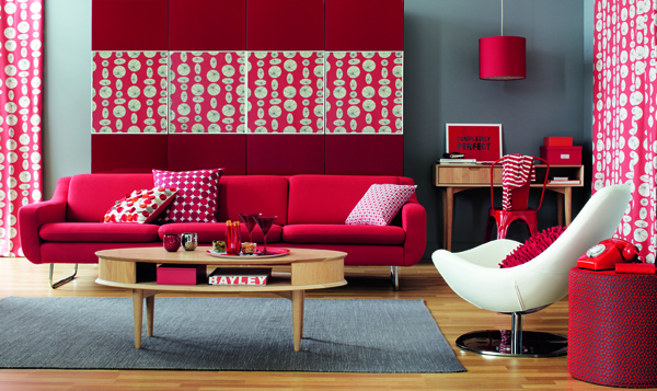 red-sofa-living-room-decor