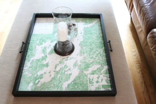 DIY-ideas-for-decorating-with-maps-tray-shine-your-light
