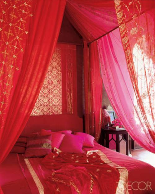 red-bohemian-bedroom