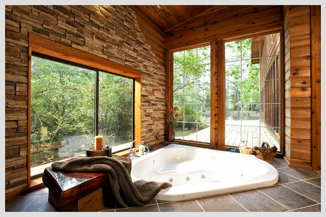 wood-transitioning-to-stone-walls-in-the-corner-bathtub-design-ideas