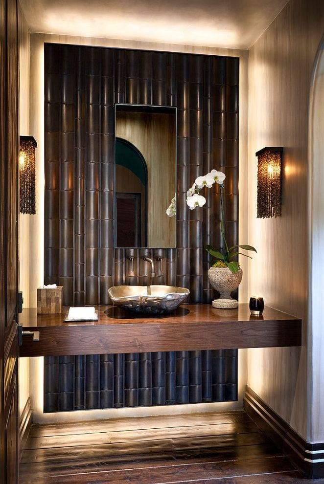 Bamboo-tiles-steal-the-show-in-this-powder-room