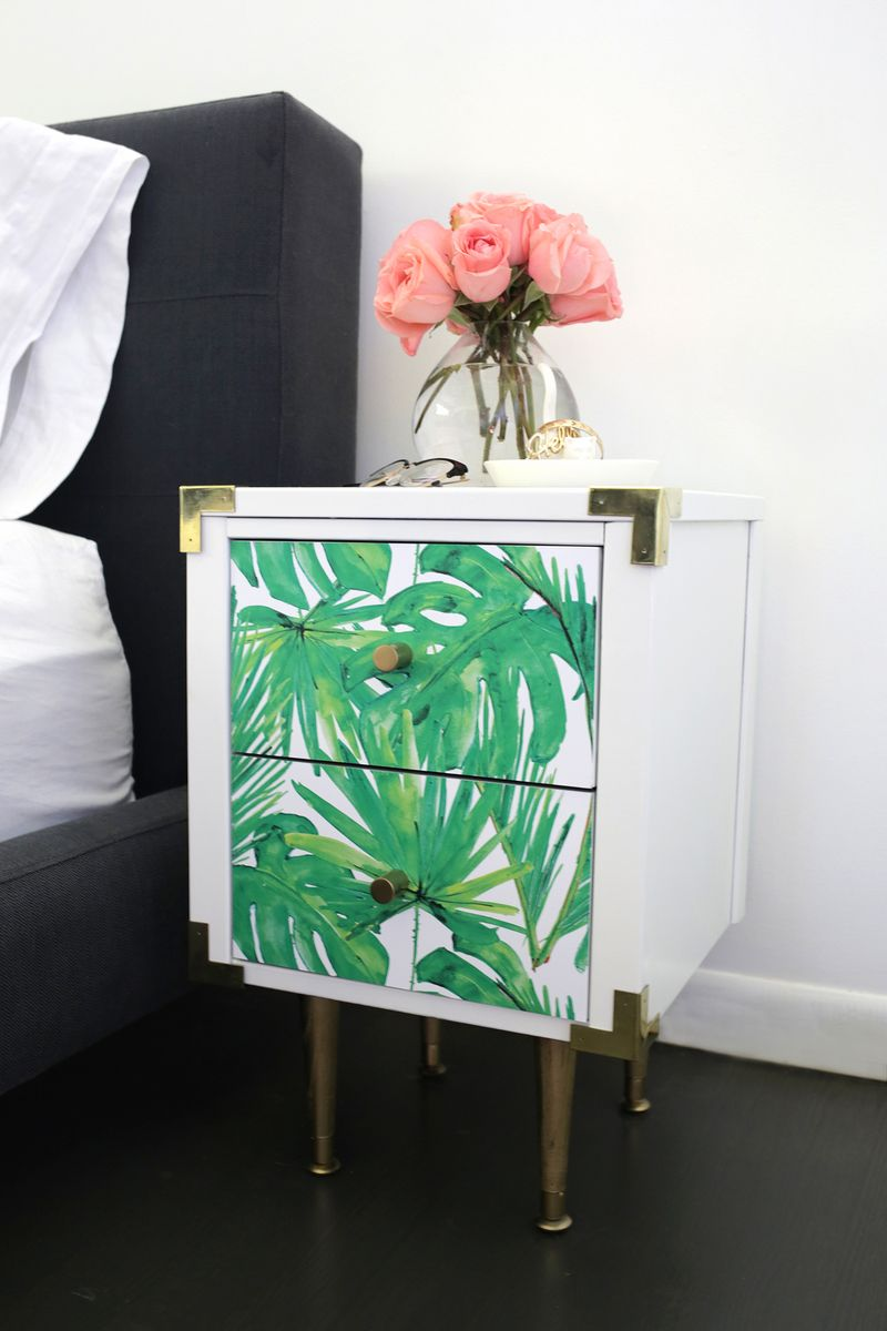 Nightstand-makeover-from-A-Beautiful-Mess