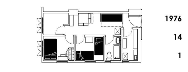 Este apartamento de Hong Kong de 32 metros posee 24